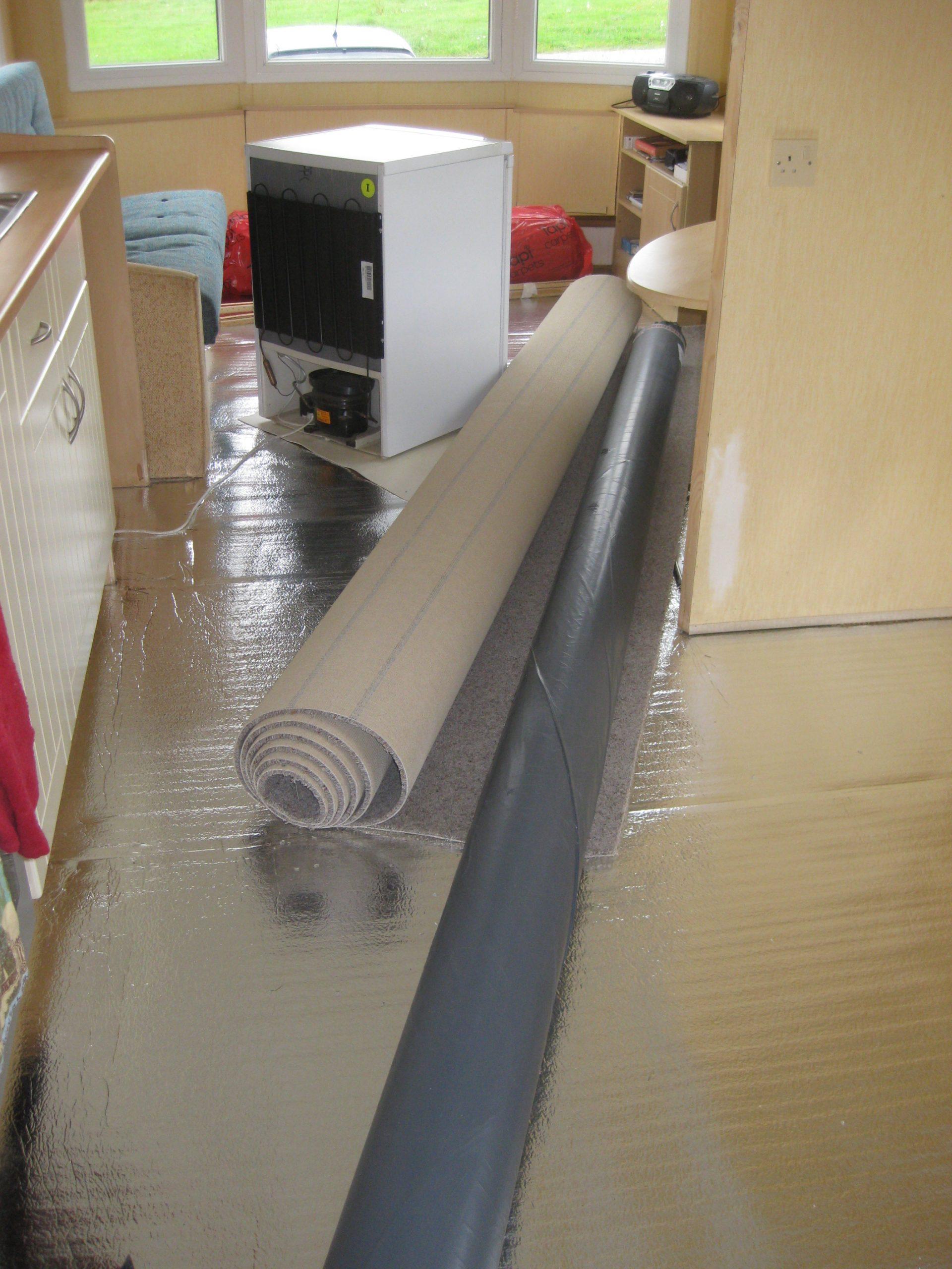 Foil and carpet